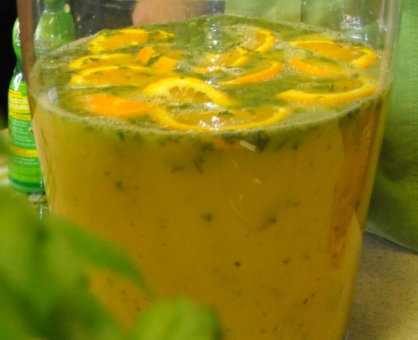 Citrus Basil Cooler Ready to Serve