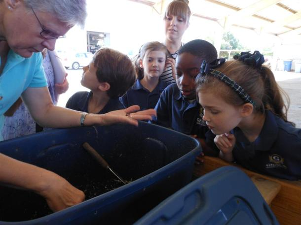 Vermicomposting Taught By Dallas County Master Gardeners For Kids
