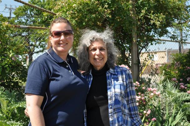 Mrs. Medina and Mrs. Metheny of Grace Academy, Dallas, Texas