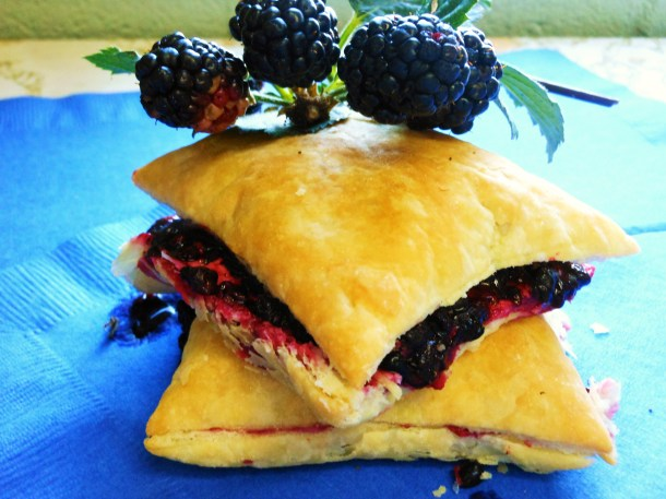 Blackberry Puffs