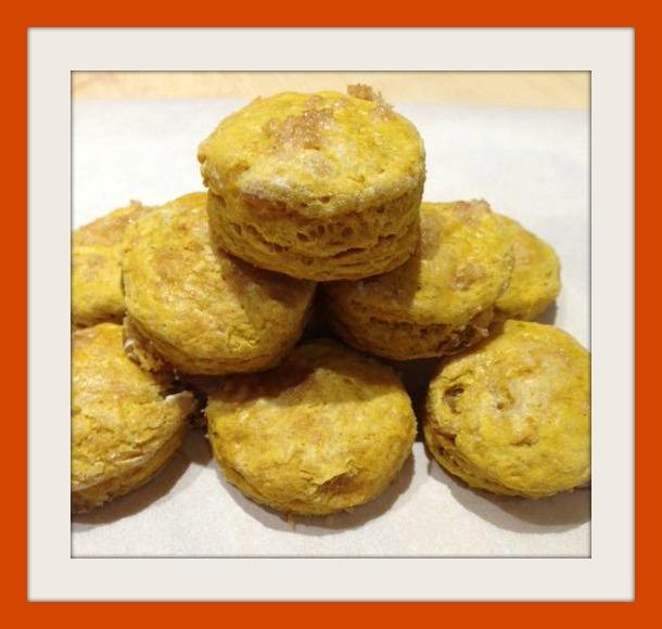 Pumkin Biscuits