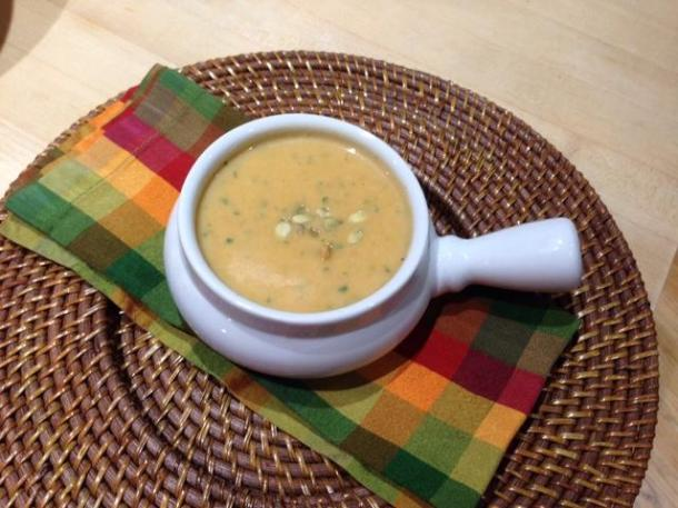 Pumkin Soup, Dallas Garden Buzz