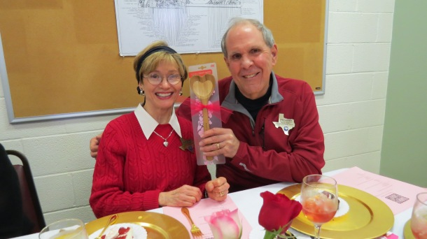 Dallas County Master Gardeners, Eric and Jane, the winners!