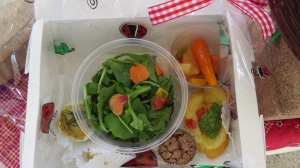 picnic-boxed lunch