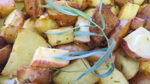 Tarragon potatoes