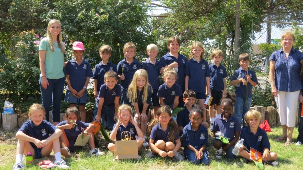 Grace Academy  Second Graders and Teachers, 2014