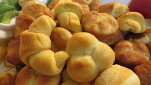 Sweet Potato Crescent Rolls and Sour Cream Yeast Rolls