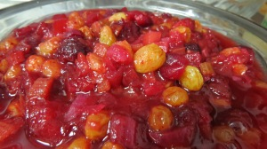 Farewell-cranberry chutney