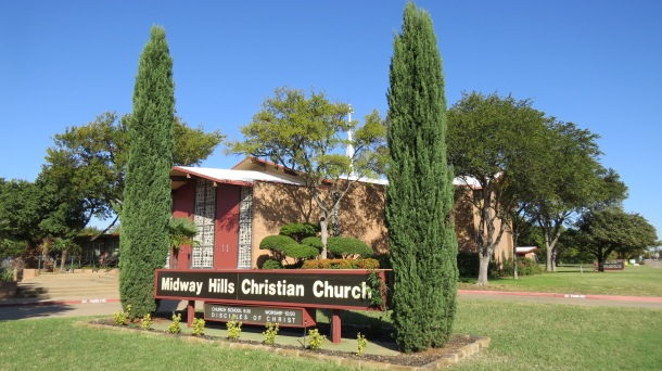 Midway Hills Christian Church, Site of our New Garden
