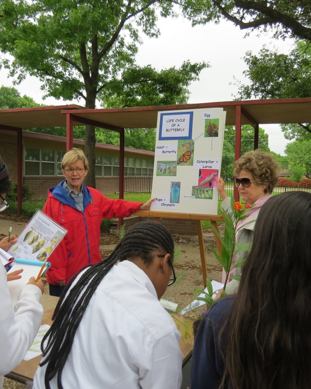 Jane and Judy Teaching West Dallas 5th Graders