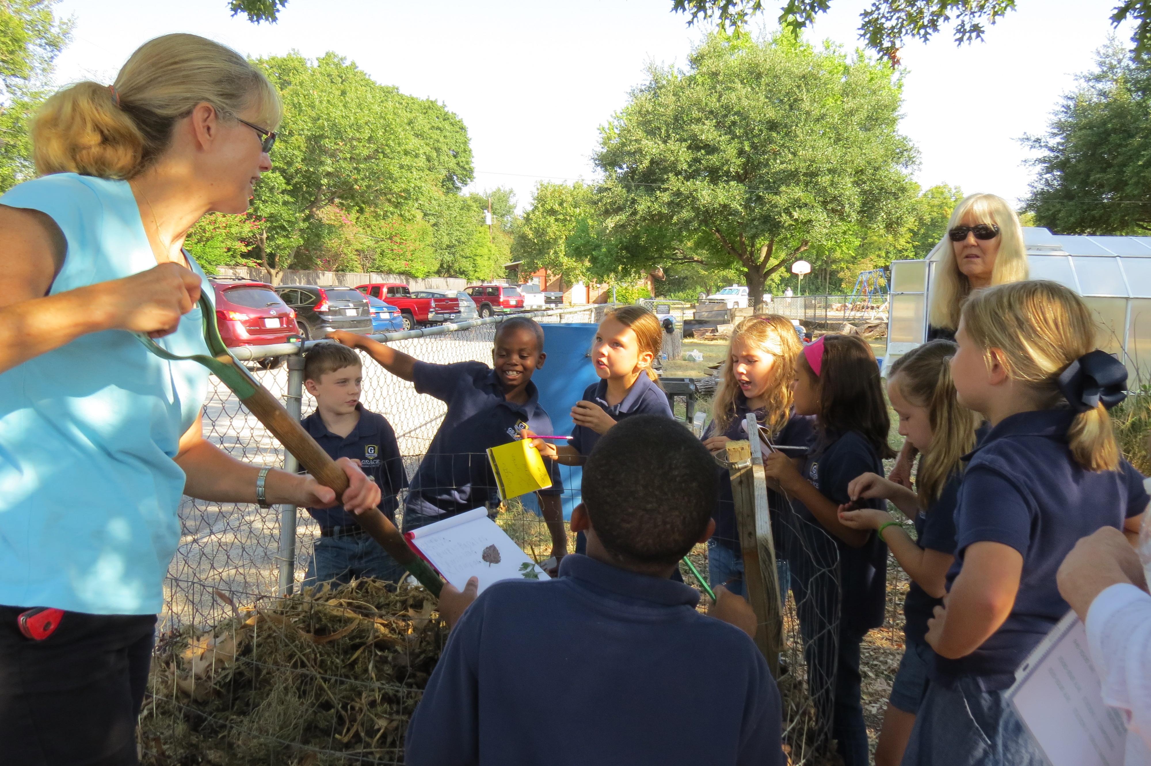 Lisa, a Master at Composting and Teaching!