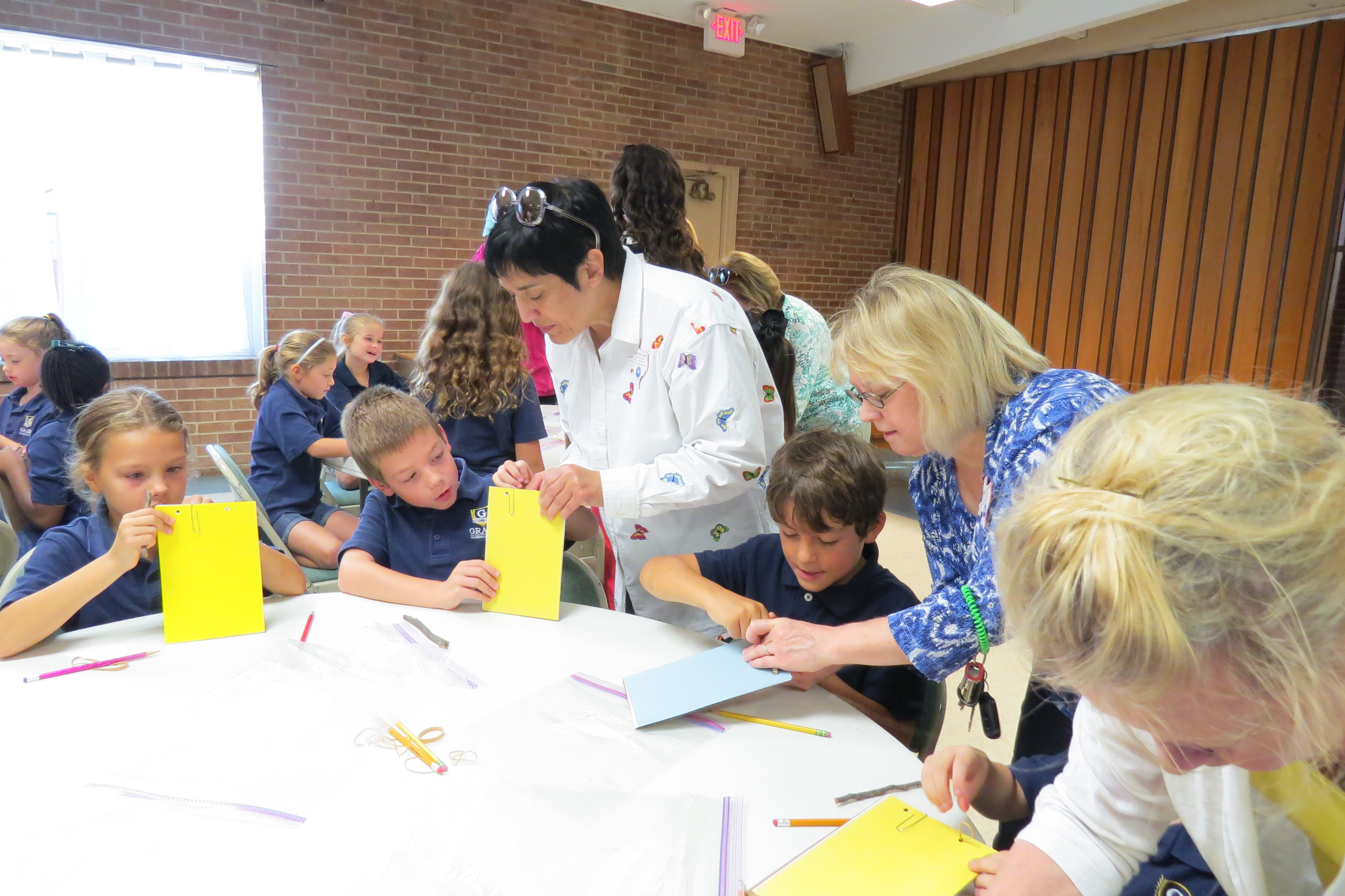 Dallas County Master Gardeners, Nature Journals, and Grace Academy Second Graders