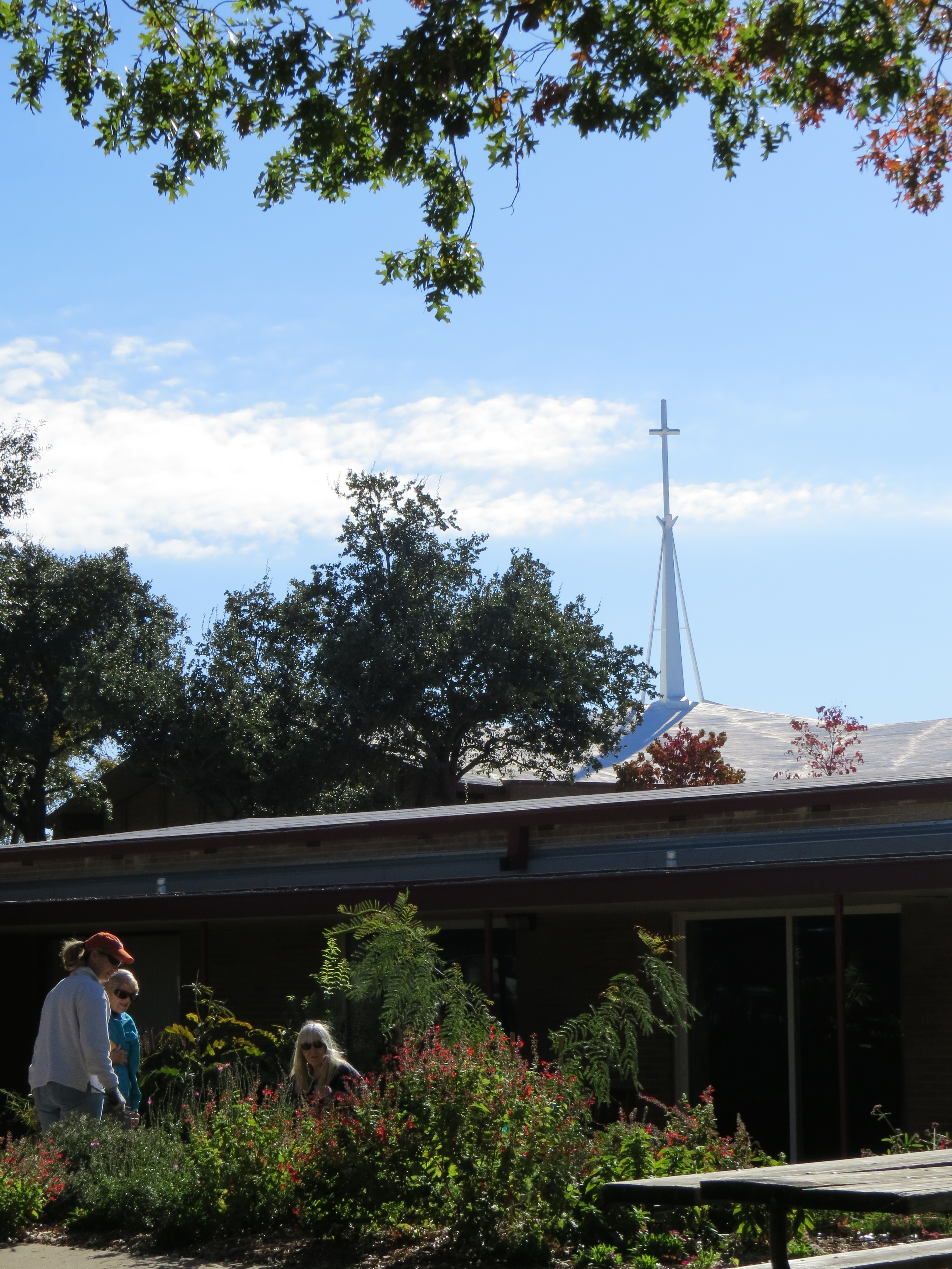 Midway Hills Christian Church-The Site of our New Raincatcher's Garden