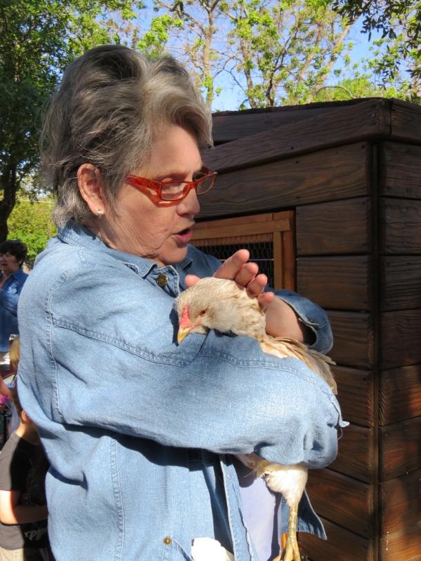 Judy holding Gigi